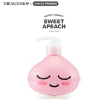 THE FACE SHOP Cherry Blossom Hand & Body Lotion 400ml  [The Face Shop x Kakao Friends -Sweet Apeach]